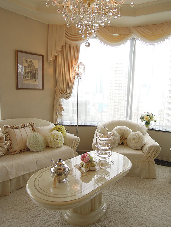 Living & Dining Room - Blanc