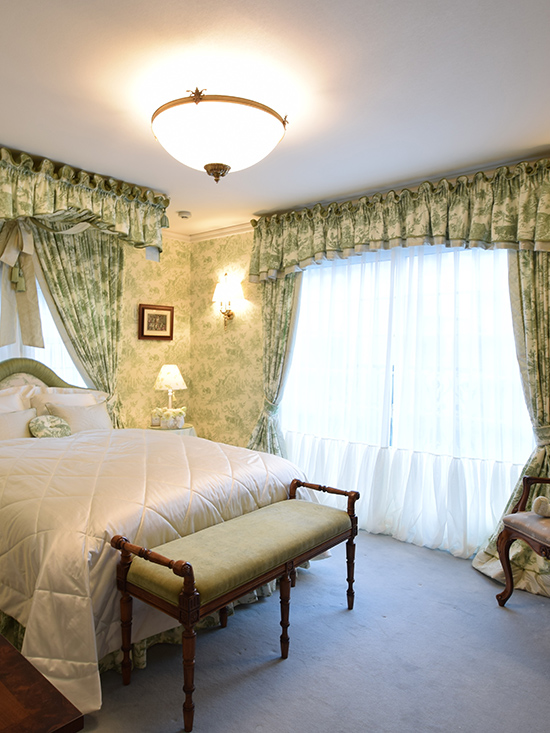 Master Bedroom - Toile de Jouy