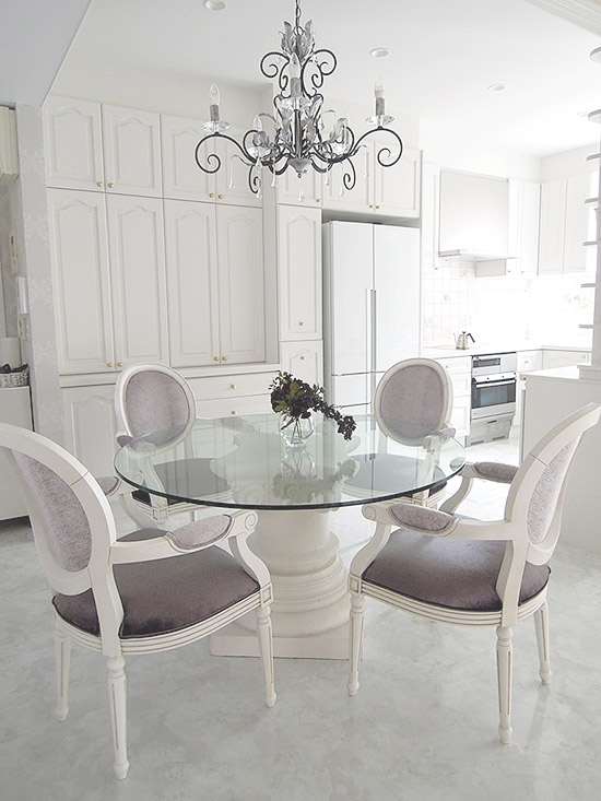 Dining Room - Noble White